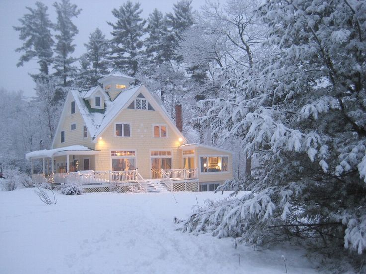 North Conway Vacation Rental - VRBO 228839 - 4 BR White Mountains House in NH. My idea of heaven!!