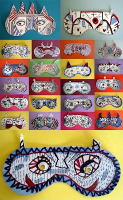 Paper Masks - possible sunglasses! #masks #sunglasses fun