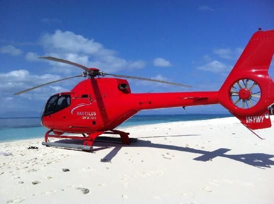 Eurocopter EC120 on Secluded Cay