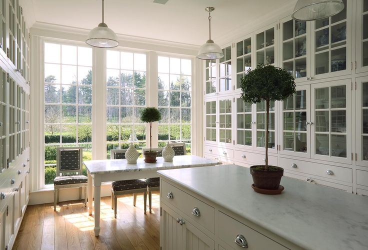 gorgeous cabinetry + windows