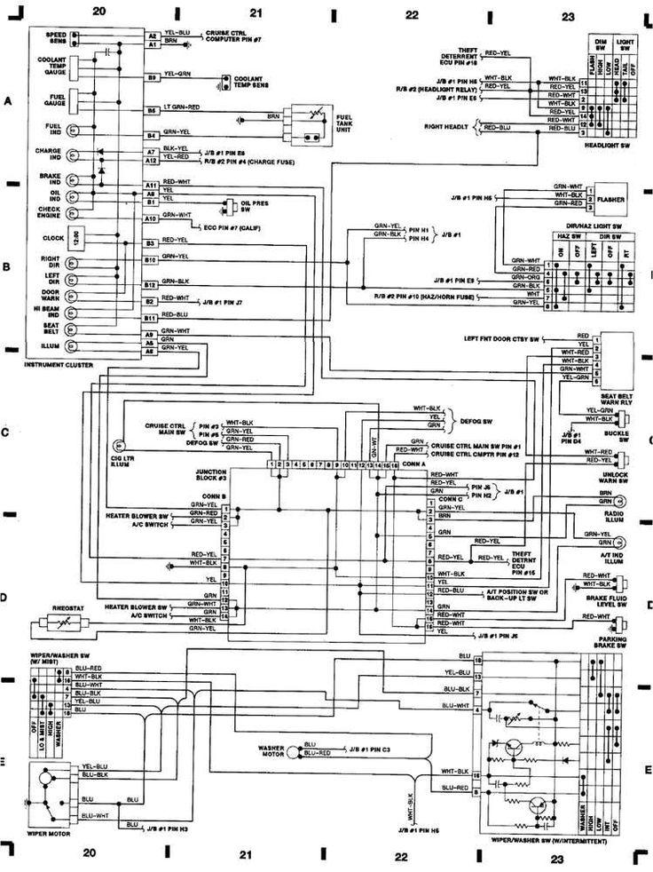 Dodge Stratus Wiring Diagram Schaltplan Toyota Camry Honda Accord