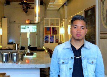 Les Sabilano, co-owner of Lamesa Filipino Kitchen