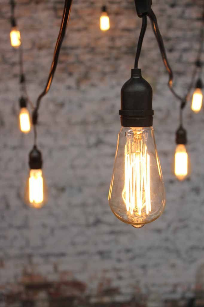 Light Bulb String Lights Nz : The 25+ best Edison lighting ideas on Pinterest Rustic lighting, Edison bulbs and Rustic light ...