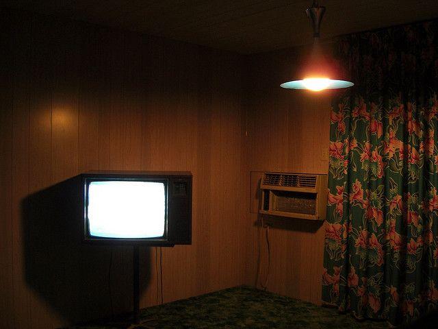 Motel Room by Bernd*, via Flickr