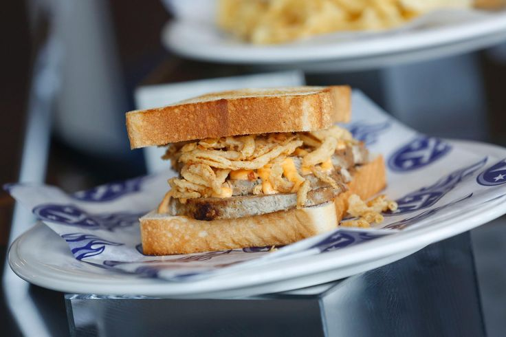 Music City Meatloaf Sandwich.  LP Field (Tennessee Titans)