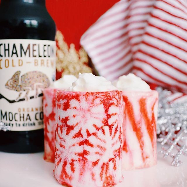 ... PEPPERMINT COFFEE TODDY - 4 oz. Hot Chameleon Cold-Brew Mocha - 2 oz