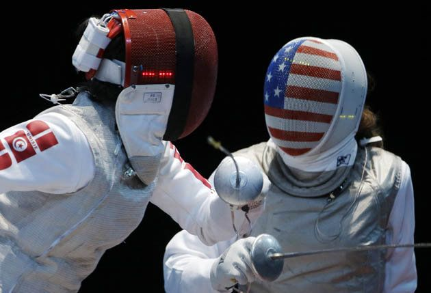 """Fencing has the early lead for """"Coolest Olympic Uniform"""""""