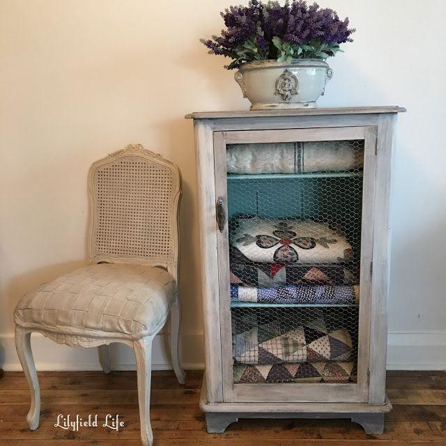 Lilyfield Life: Chicken Wire Cabinet