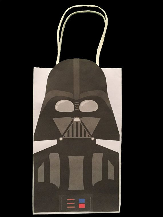 Star Wars Darth Vader Party Favor Bag Printable Star Wars