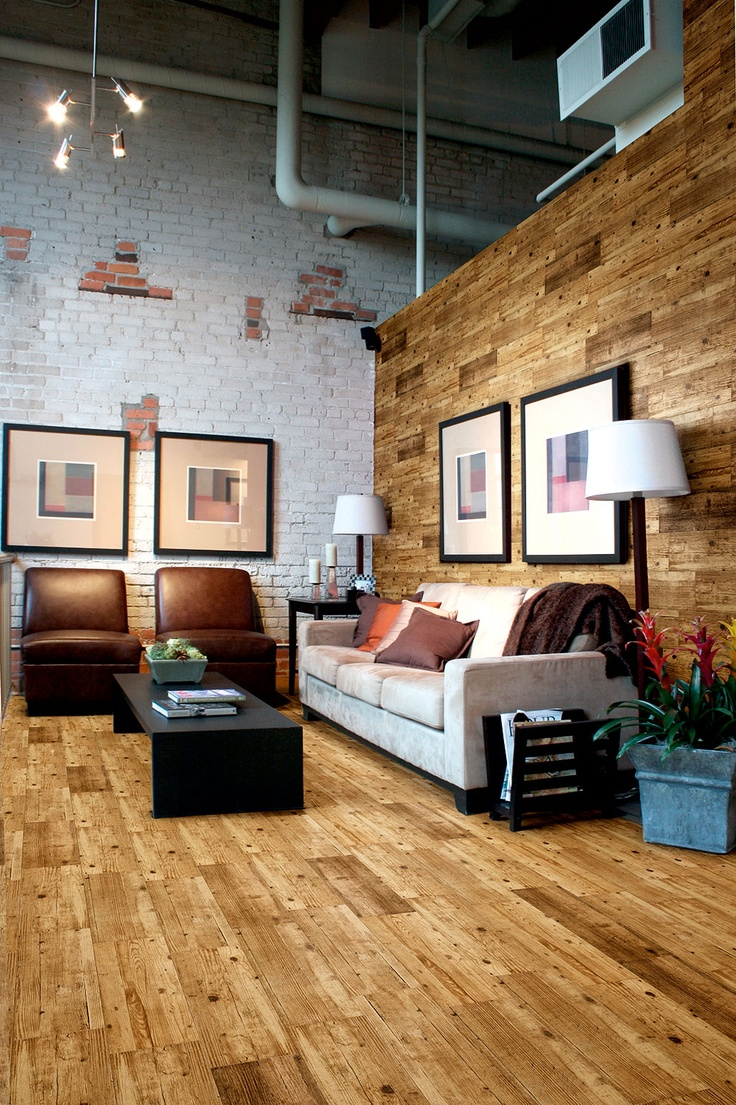 As seen in Grand Designs Magazine, Rustic Wood - Oak Tiles! This stunning new Rustic Wood Oak Flooring provides an attractive authentic wood appearance with all the benefits of ceramic tiles. Love this!