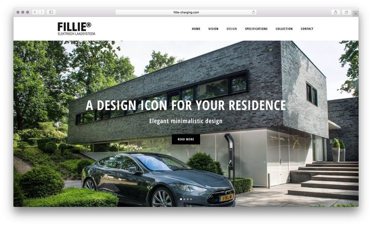 FILLIE Premium Charging Station Website (English)  http://www.fillie-charging.com #fillie #charging #dutch #design #reddot #ev #tesla #volvo #ff91