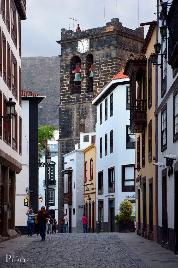 Santa Cruz de La Palma, Tenerife Spain¦ pilago