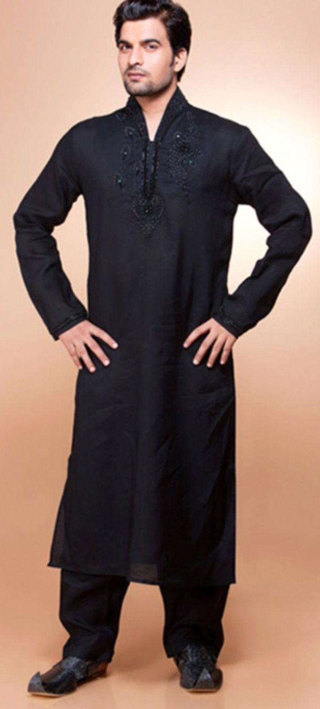 Eid kids kurta shalwar kameez designs 2013 2014 - Pakistani Salwar Kameez For Men Latest Casual Salwar Kameez