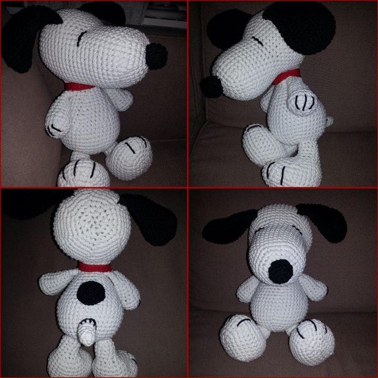 Snoopy – Amigurumi Brasil – AmiBR
