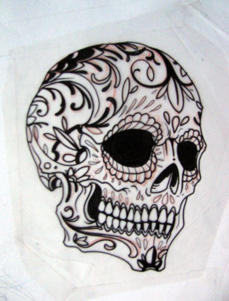 harley davidson tattoos with skulls