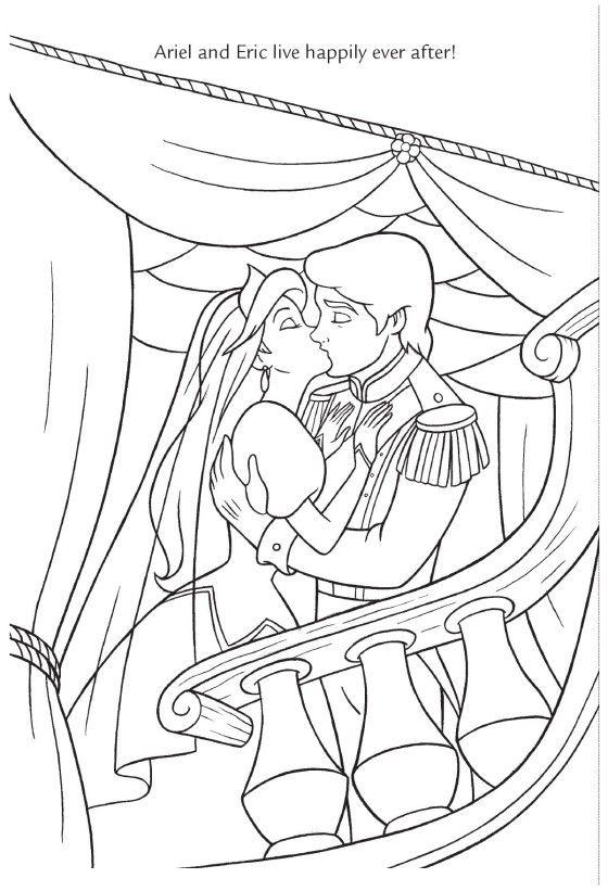 Wedding Wishes Ariel Prince Eric Little Mermaid Disney Princess
