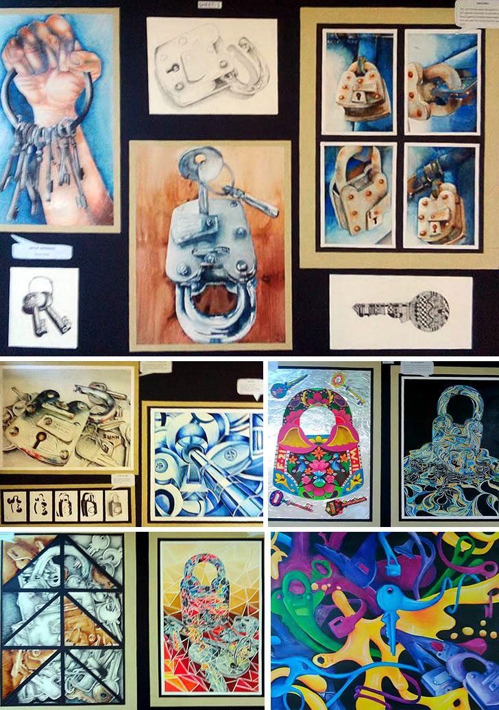 A  GCSE Art Coursework  Sense of Place Student Art Guide