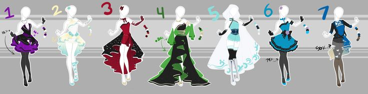 .::Adoptable Collection 15 (1, 6 OPEN)::. by Scarlett-Knight.deviantart.com on @DeviantArt