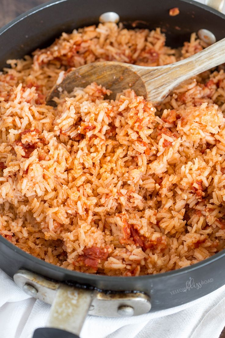 mexican rice on Pinterest | Authentic spanish rice recipe, Mexican ...