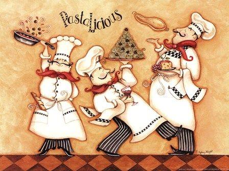 Pastalicious by Sydney Wright art print