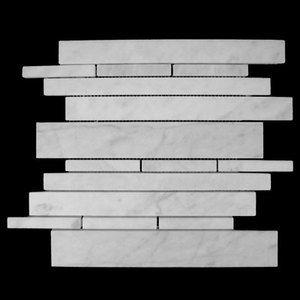 23 Best Mini Brick Marble Mosaic Tiles Images On Pinterest