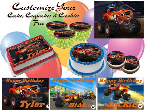 Best Blaze And The Monster Truck Birthday Party Images On