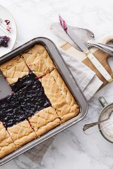 #kruche #ciasto z galaretką z czerwonej porzeczki. #delektujemy #tarta #tart #deser #pie