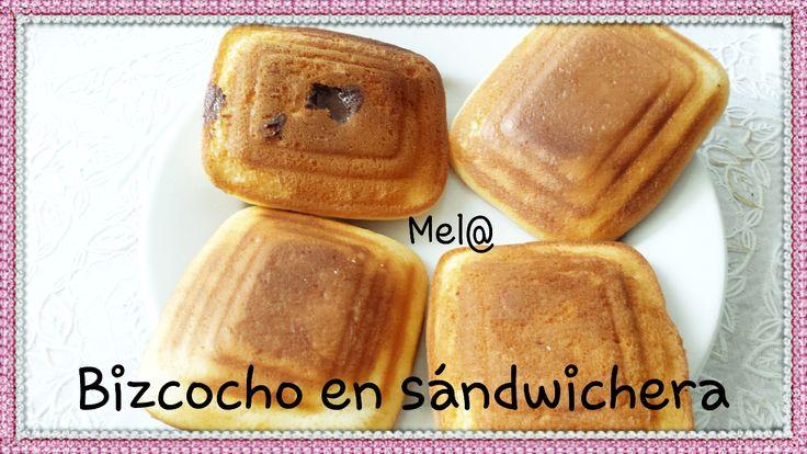 Bizcochos en sandwichera