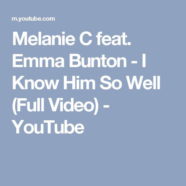 Melanie C feat. Emma Bunton - I Know Him So Well (Full Video) - YouTube