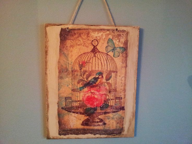 Handmade Vintage Plaquette by Funky-Junk