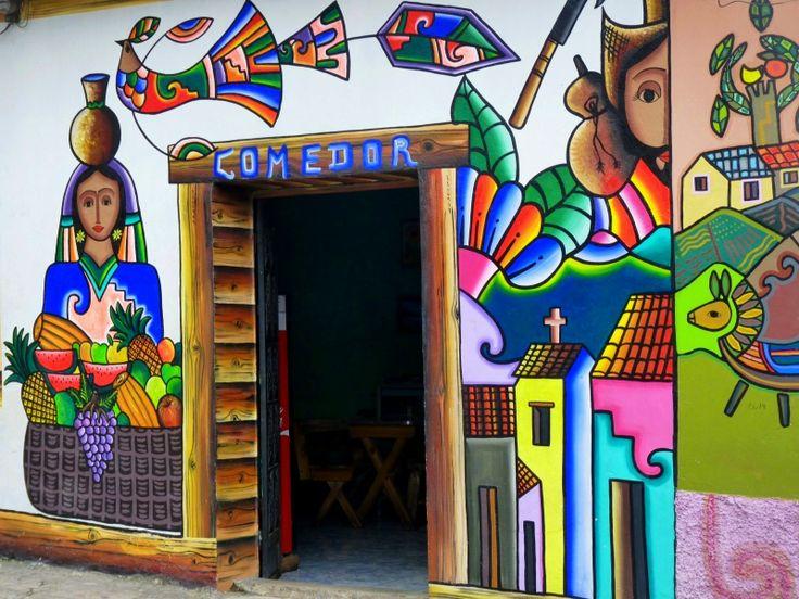 Comedor in La Palma, Salvador.