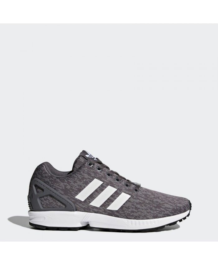8cb52cdfdf0a2 Adidas Zx Flux Mens Grey Five And Footwear White Shoes | adidas zx ...