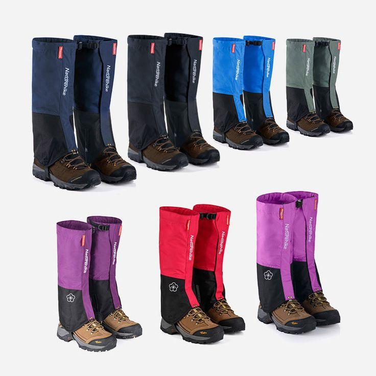 Naturehike Su Geçirmez kar kayak Çorapları çizmeler ayakkabı yüksek açık çayırları kapakları kapakları su dayanıklı erkekler kadınlar siyah legging | 32772547868_nl