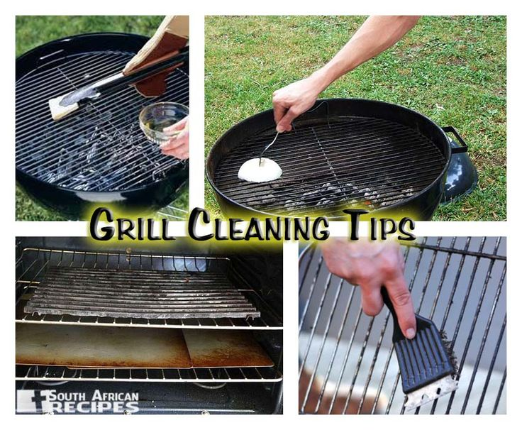 A few tips to keep your Braai / BBQ grill clean. Feel free to add your favourite method!