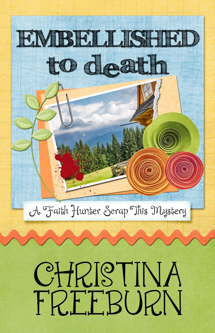 Embellished to Death, Christina Freeburn