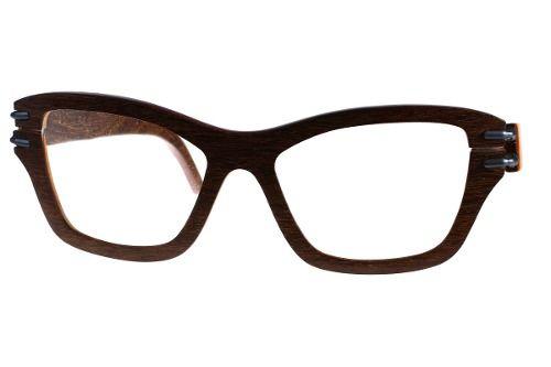Gafas de sol en madera, filtro UV, marca Maguaco S025. Maderas: Ebano Sinuano y Carreto Guajiro. $200.000 COP