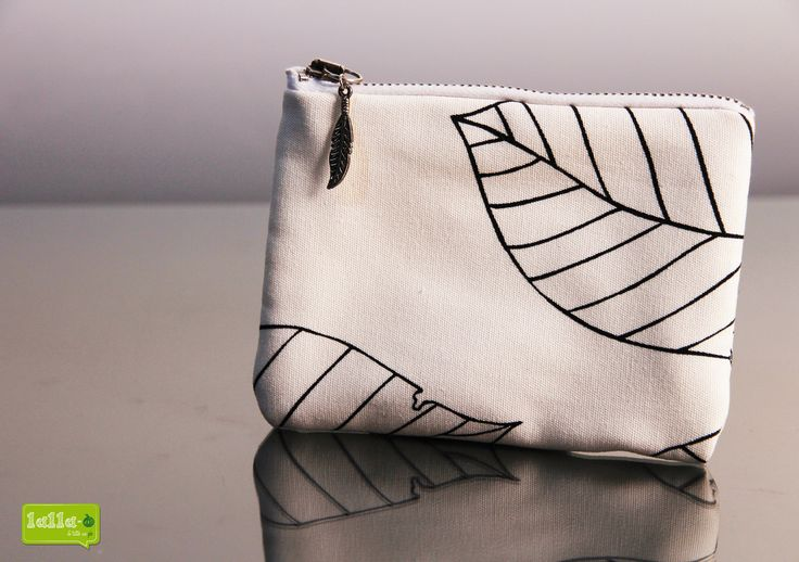 POCHETTE NATURE WHITE 14cmx10cm