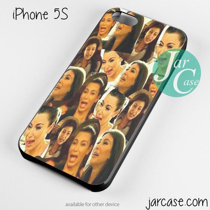 Kim kadarshian collage Phone case for iPhone 4/4s/5/5c/5s/6/6 plus