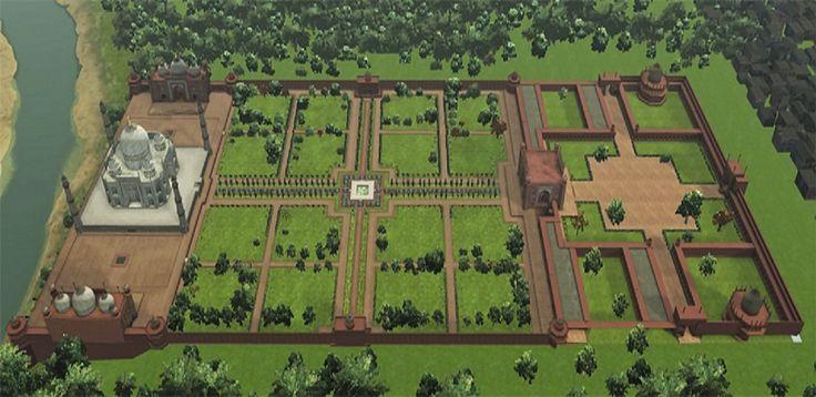 Taj Mahal Garden Layout. Agra, Uttar Pradesh, India - The famed Taj Mahal  is actually an integrated complex - Taj Mahal Garden Layout Design Your Life