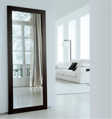 Grote spiegel zwart op de deur google zoeken kamer dieke pinterest grote spiegel - Grote spiegel voor de woonkamer ...