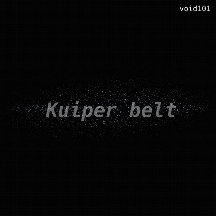 Kuiper belt – a bell-ish electronic ambient Track.