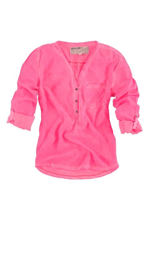 Blouse Garcia E30023 RUNA WOMEN 396 Neon pink