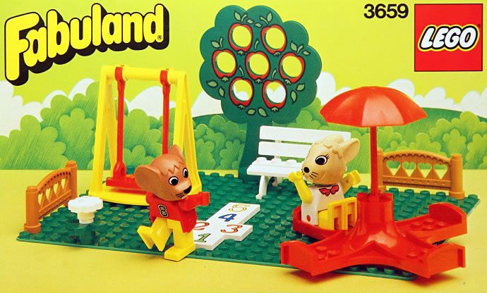 3659: Playground  Fabuland, 1987