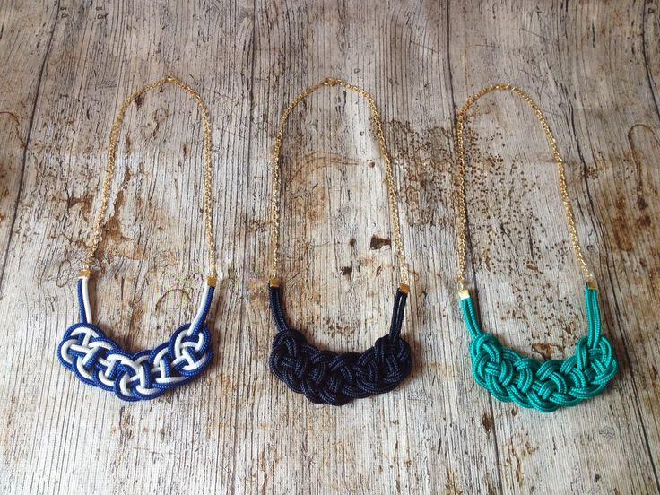 Rope necklace by Cziribu Follow me on https://www.facebook.com/cziribu