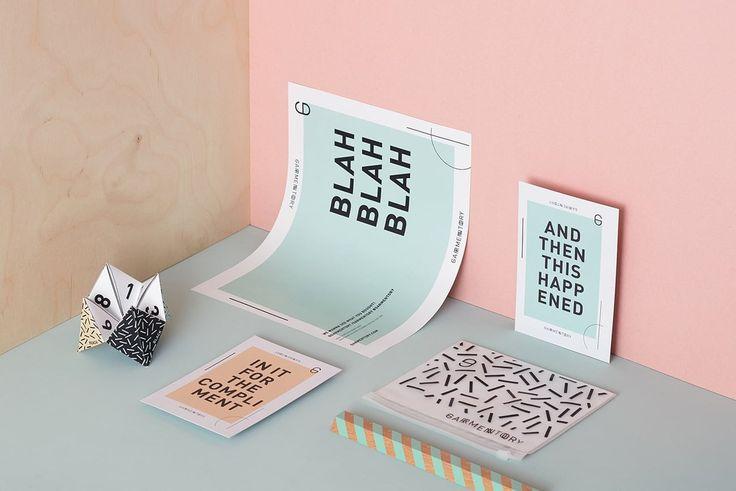 Garmentory Packaging Design by arithmetic creative  http://mindsparklemag.com/design/garmentory-packaging-design/
