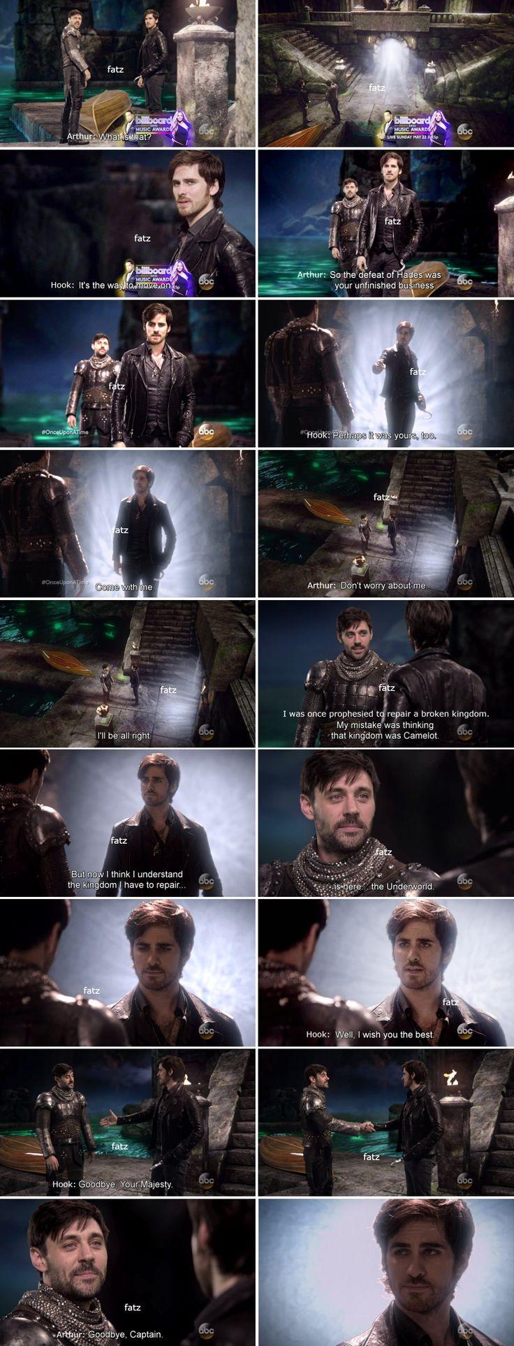 "Killian Jones and King Arthur - 5 * 21 ""Last Rites"""