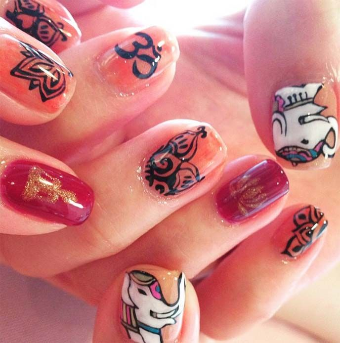 11 Best Images About Nail Art, Cute Japanese Nails On