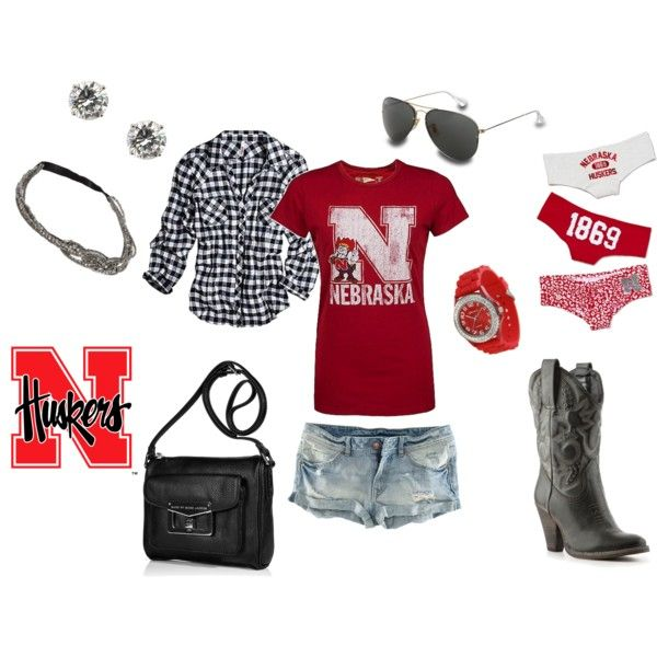 Tailgating!! Huskers <3