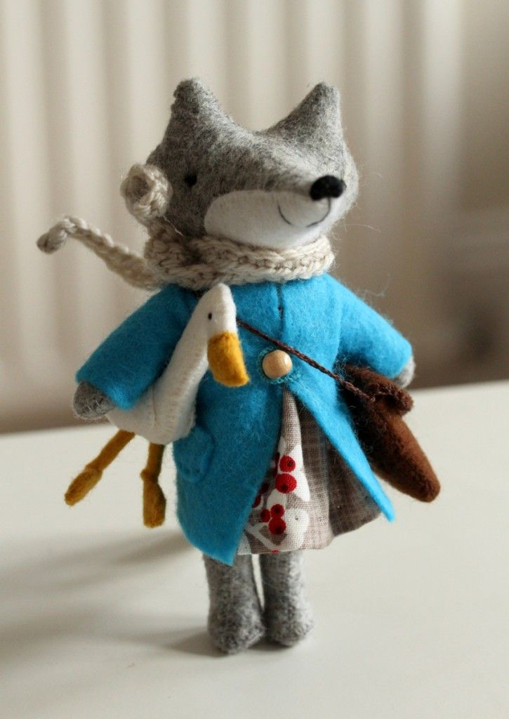 Fox. Blog of a talented British toy maker
