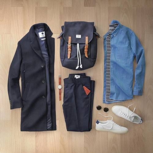 d43f6a71226 T-Shirt  todd snyder Sunglasses  rayban Bag  sandqvist Wallet Watch   miansai Shoes  common projects 📷 by…